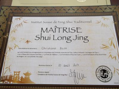 Diplome Feng Shui
